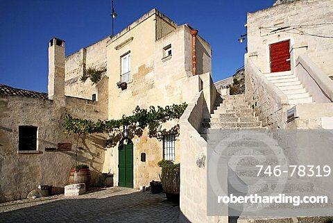 Sassi of Matera, Old Town, Matera, Basilicata, Italy