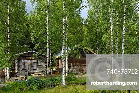 Traditional house, Linnansaari National Park, Southern Savonia and Northern Savonia, Finland, Scandinavia, Europe