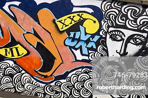 murales and graffiti, bergamo, italy