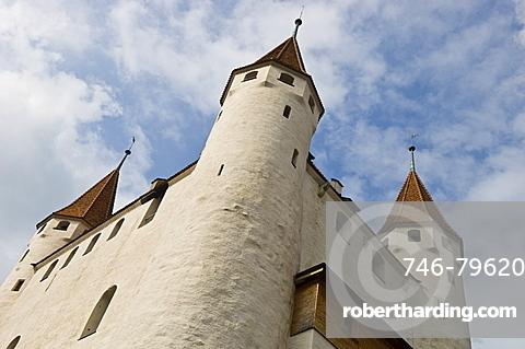castle, thun, switzerland