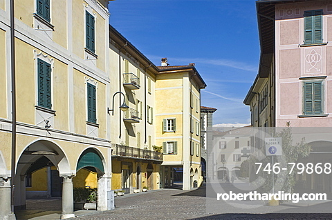 historical centre, iseo, italy