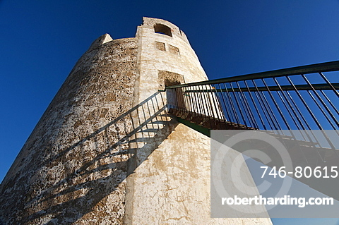 Chia Tower, Domus de Maria, Cagliari District, Sardinia, Italy