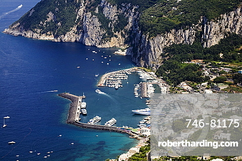 Marina Grande, Capri island, Naples, Campania, Italy, Europe