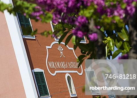 Hotel Miramare e Castello, Ischia Island, Naples.Italy, Europe