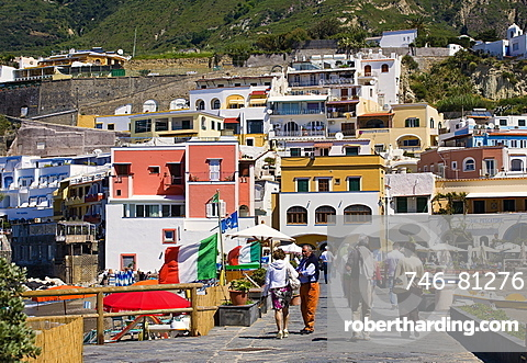 S.Angelo bay,Ischia island,Naples,Campania,Italy,Europe.