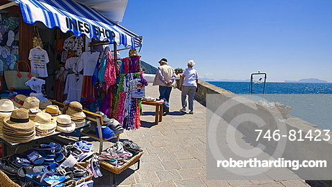Souvenirs shop in S.Angelo,Ischia island,Naples,Campania,Italy,Europe.
