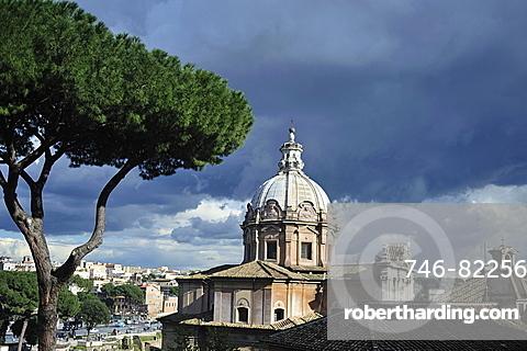 Rome. Lazio. Italy. Europe. S.S. Luca and Martina Church