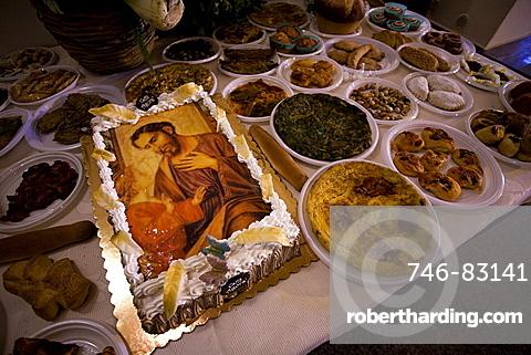 San Giuseppe religious feast, Sicily, Italy, Europe
