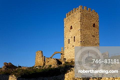 Castello di Cefala Diana castle, Palermo, Sicily, Italy, Europe