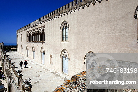 The Donnafugata Castle, situated in proximity to Santa Croce Camerina, Ragusa, Sicily, Italy, Europe