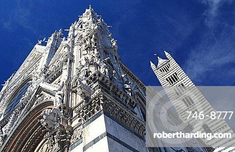 The Cathedral, Siena, Tuscany, Italy.