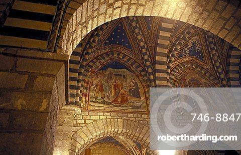 Abbey of San Leolino, Siena, Tuscany, Italy.