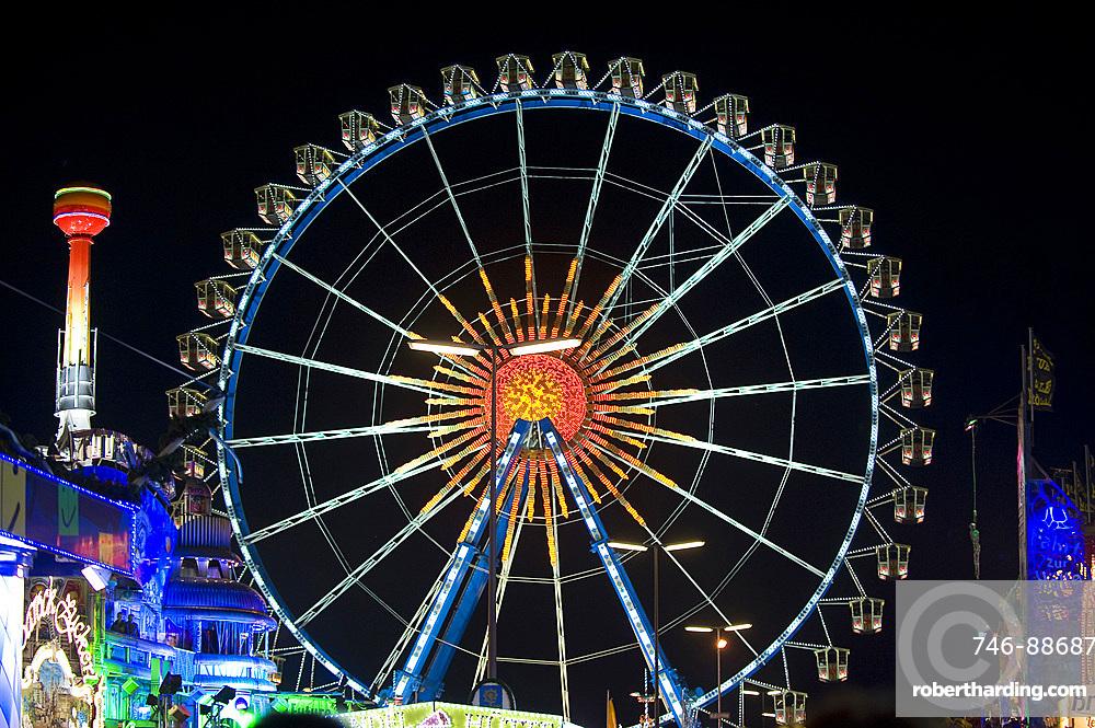 Oktoberfest, traditional german beer festival, Munich, Baviera, Germany, Europe