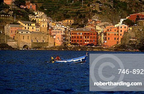 View of Vernazza, Cinque Terre, Liguria, Italy