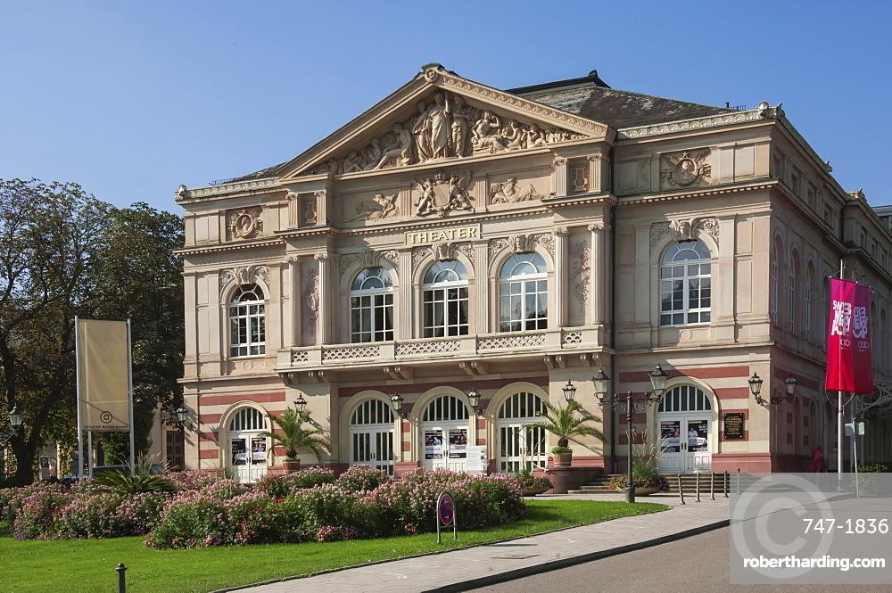 City Theatre, Baden Baden, Black Forest, Baden-Wurttemberg, Germany, Europe