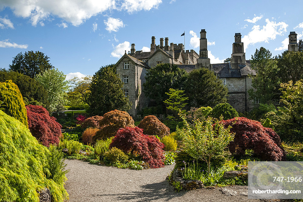 Sizergh Castle and Garden, South Kendal, Cumbria, England, United Kingdom, Europe