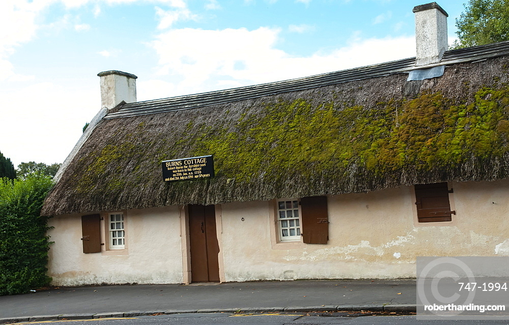 Robert Burns Birthplace, Ayr, Ayrshire, Scotland, United Kingdom, Europe