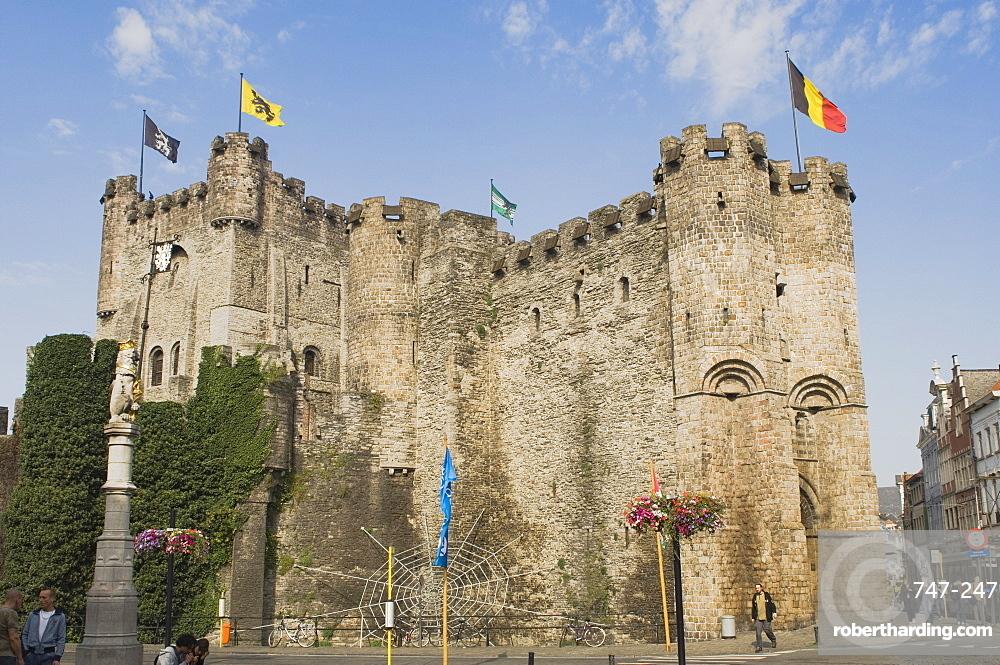 The Castle, Ghent, Belgium, Europe