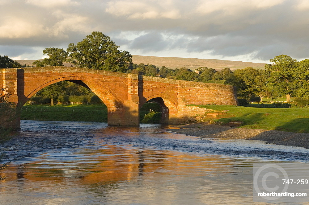 Eden Bridge, River Eden, Lazonby, Eden Valley, Cumbria, England, United Kingdom, Europe