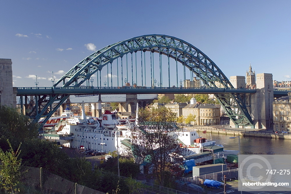 Tyne Bridge, Newcastle upon Tyne, Tyneside, England, United Kingdom, Europe