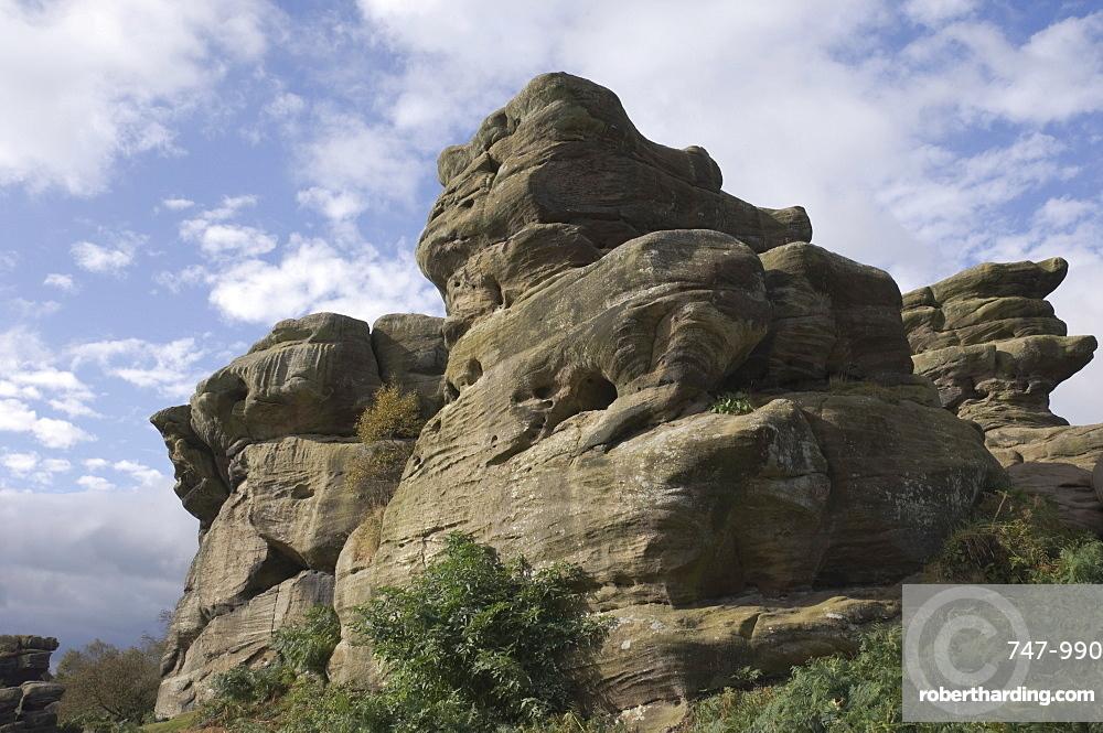 Brimham Rocks, Brimham Moor, near Ripon, North Yorkshire, England, United Kingdom, Europe