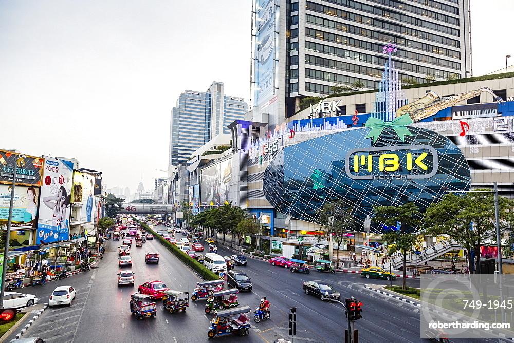 Scene from the city center, Bangkok, Thailand, Southeast Asia, Asia
