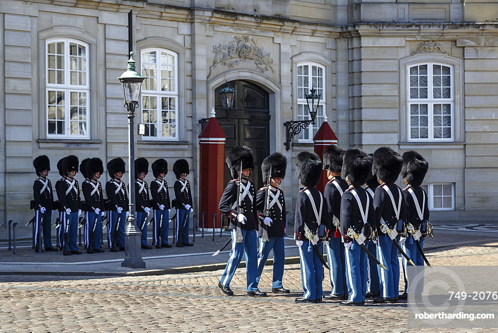 Guards, Copenhagen, Denmark, Scandinavia, Europe