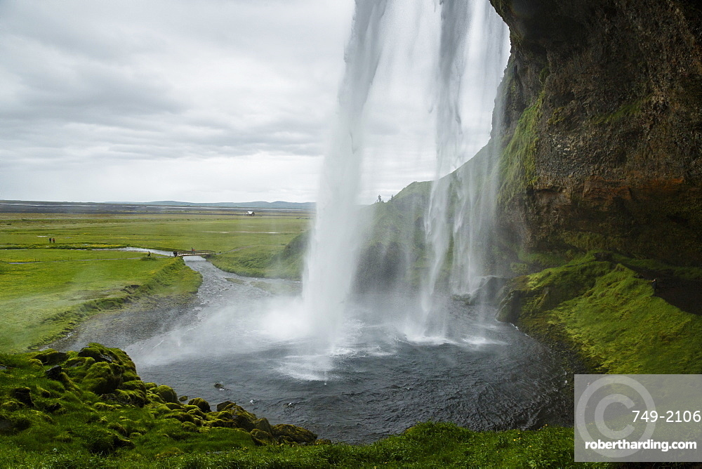 Seljalandsfoss waterfall, South Iceland, Iceland, Polar Regions