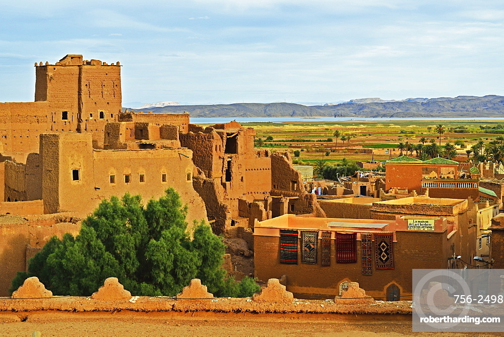 Kasbah Taourirt, Ouarzazate, Morocco, North Africa, Africa