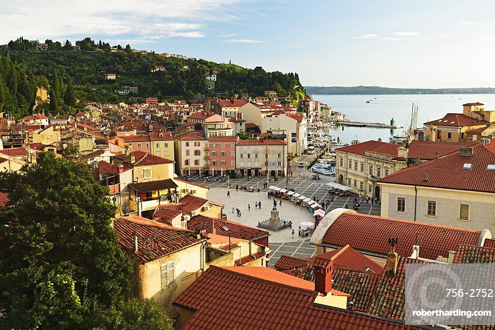Piran, Gulf of Piran, Adriatic Sea, Slovenia, Europe