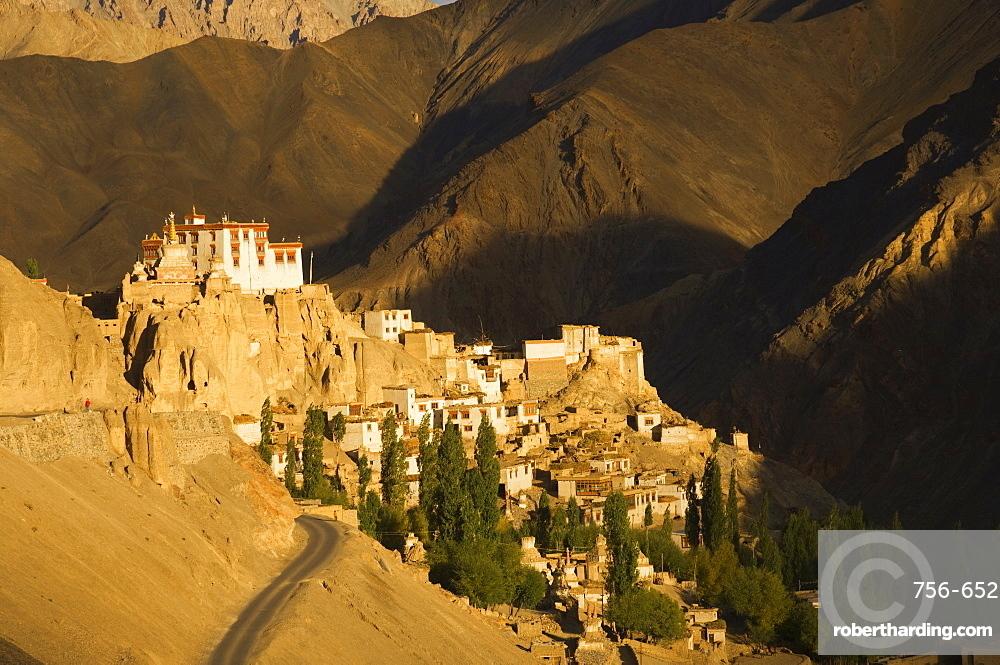 Lamayuru gompa (monastery), Lamayuru, Ladakh, Indian Himalayas, India, Asia