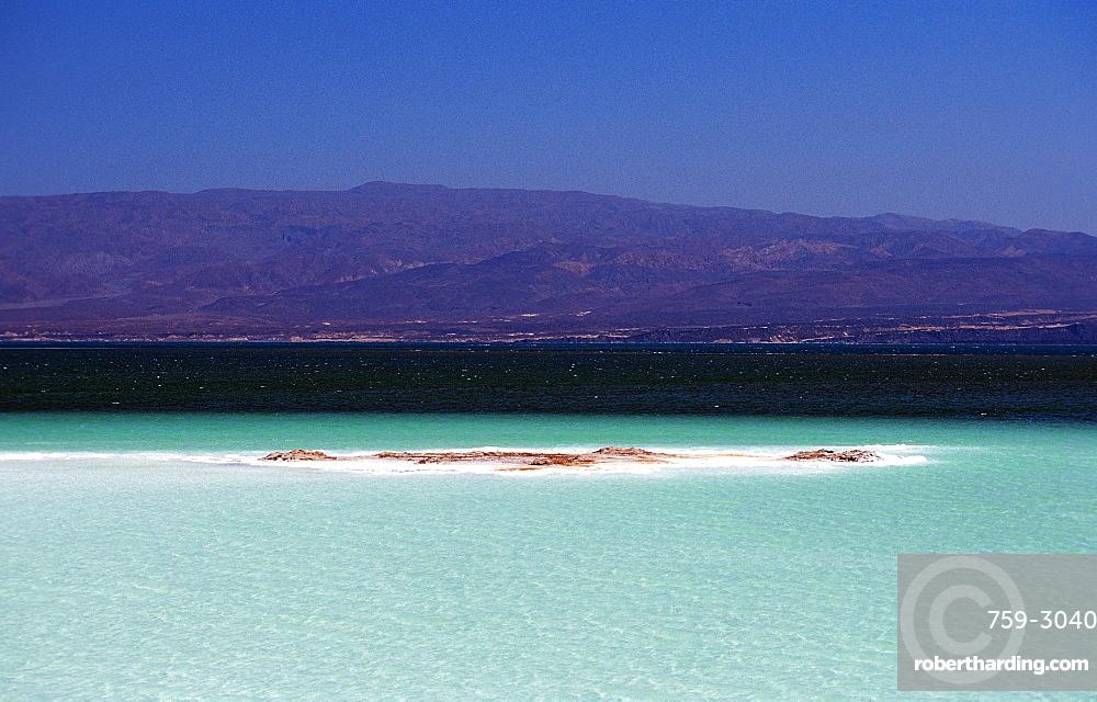 Lac Assal, Lake Assal, Djibouti,   Stock Photo