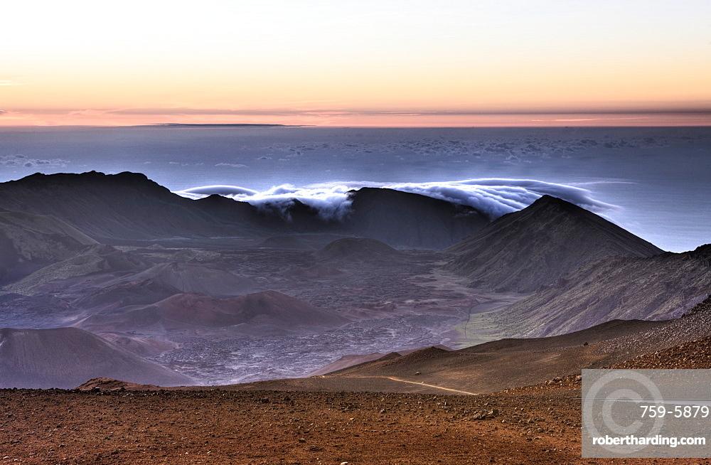 Sunrise at Haleakala Crater, Maui, Hawaii, USA