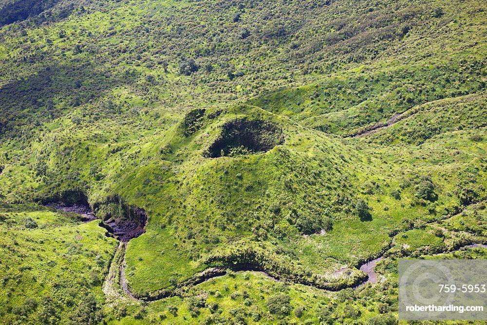 Cinder Cone near Haleakala Volcano Crater, Maui, Hawaii, USA