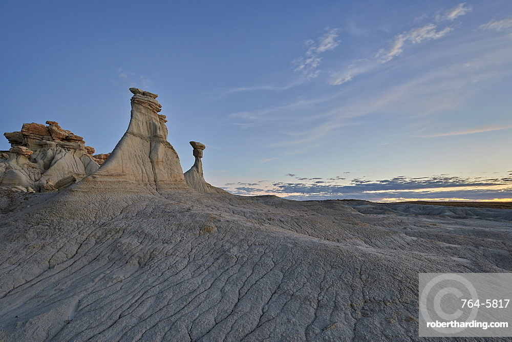 Hoodoos, Ah-Shi-Sle-Pah Wilderness Study Area, New Mexico, United States of America, North America