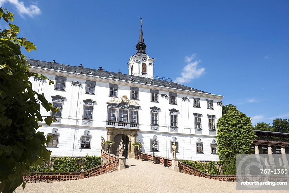 State Chateau Lysice (Lysice Castle), Lysice, Czech Republic, Europe