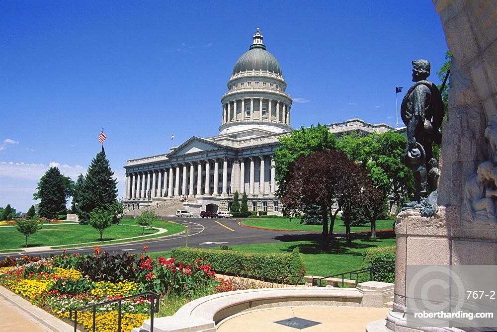 Utah State Capitol, Salt Lake City, Utah, United States of America, North America