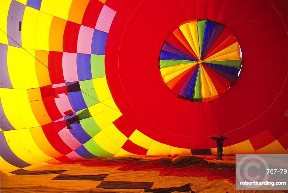 Hot air balloon, Albuquerque, New Mexico, United States of America, North America
