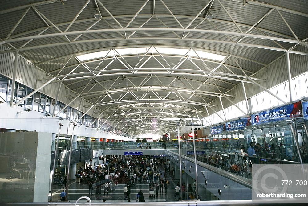 The International Airport, Beijing, China, Asia