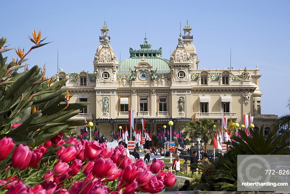 The Casino, Monte Carlo, Monaco, Cote d'Azur, Europe