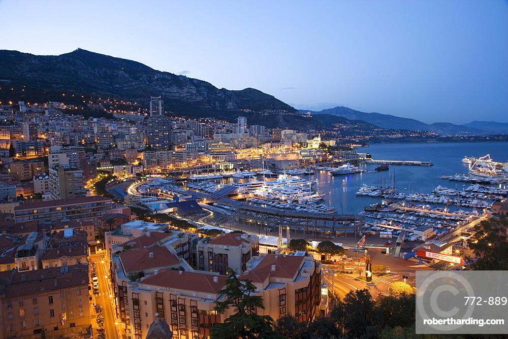 Monaco, Cote d'Azur, Mediterranean, Europe