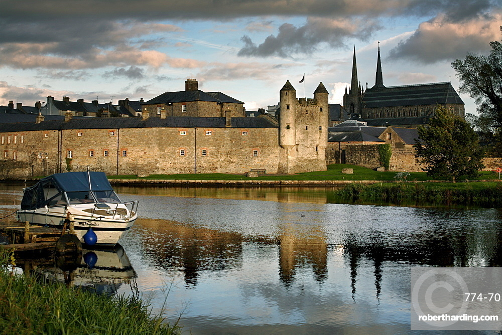 Enniskillen Castle on the banks of Lough Erne, Enniskillen, County Fermanagh, Ulster, Northern Ireland, United Kingdom, Europe