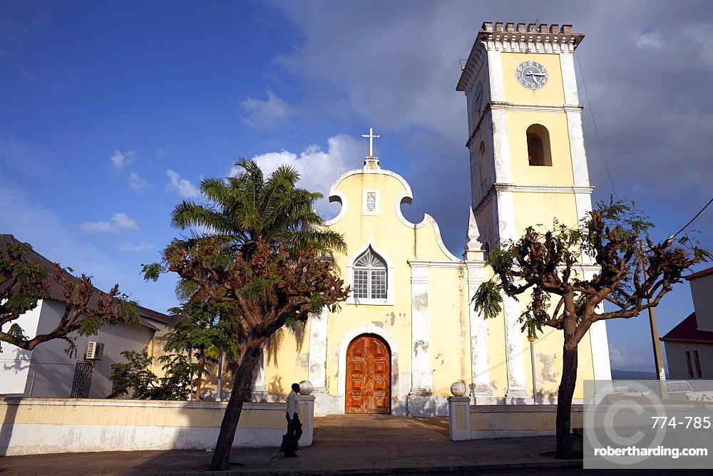 The 18th century Cathedral of Nossa Senhora de Conceicao, Inhambane, Mozambique, Africa