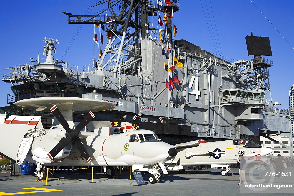 Midway Aircraft Carrier Museum, San Diego, California, United States of America, North America