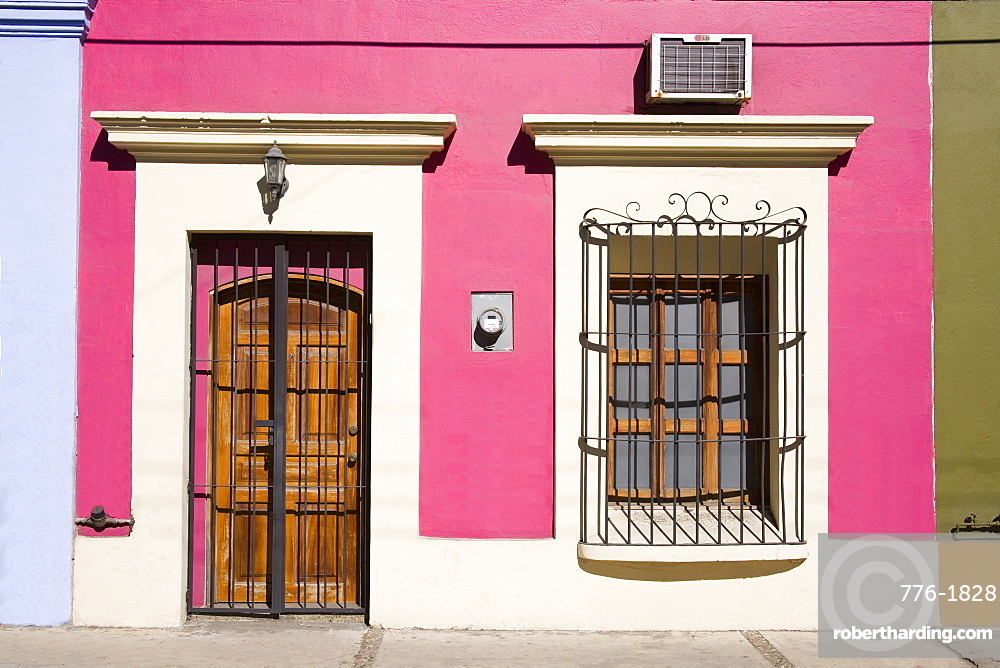 Colonial architecture in Old Town District, Mazatlan, Sinaloa State, Mexico, North America
