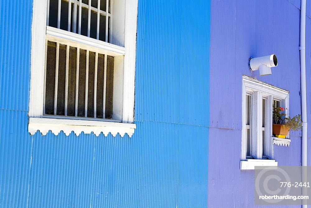 House in Cerro Concepcion, UNESCO World Heritage Site, Valparaiso, Chile, South America