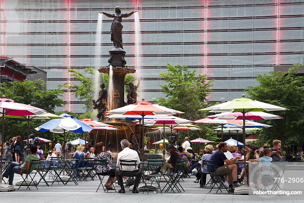 Fountain Square, Cincinnati, Ohio, United States of America, North America