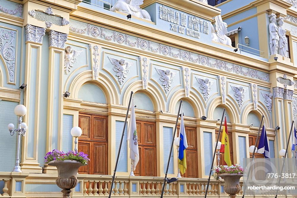 Theatre Circulo de Amistad X11 de Enro, Santa Cruz de Tenerife, Tenerife Island, Canary Islands, Spain, Europe, Europe