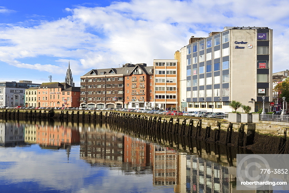 Morrison's Quay on the River Lee, Cork City, County Cork, Munster, Republic of Ireland, Europe