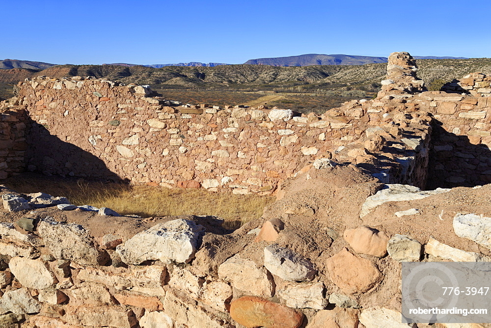 Tuzigoot National Monument, Clarkdale, Arizona, United States of America, North America